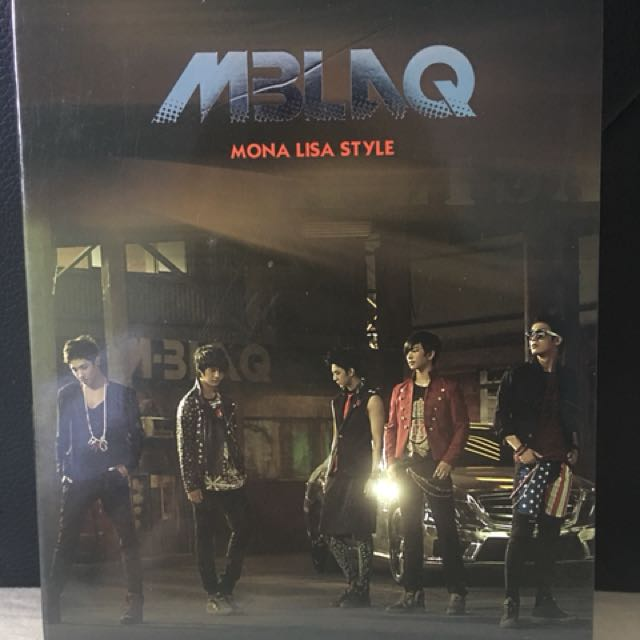 MBLAQ - MONA LISA STYLE [FIRST SPECIAL DVD.]