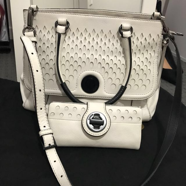 Mimco The Muse Bag and Matching wallet set