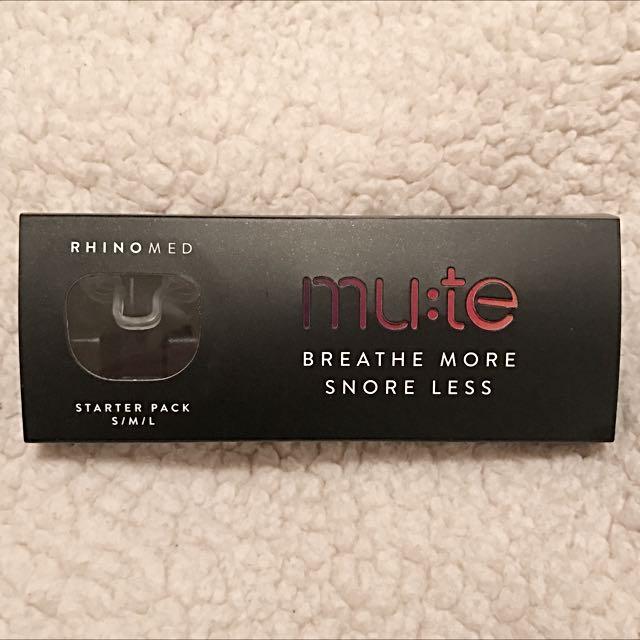 MUTE: 😴💤 ANTI-SNORING