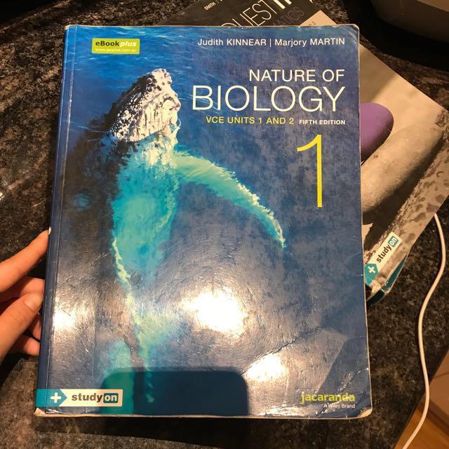 Nature of biology 1 VCE units 1&2 (5E)