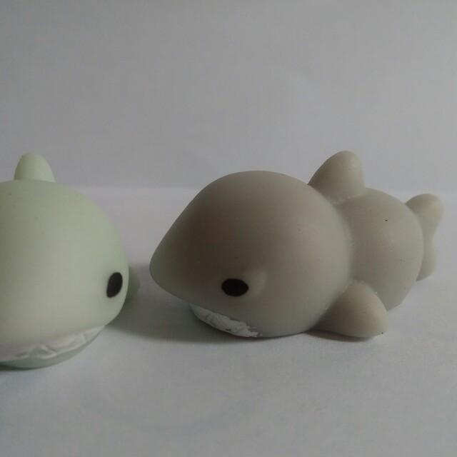 (New) 9gag Moni Moni Mochi Seal Squishy Termurah Baby Shark
