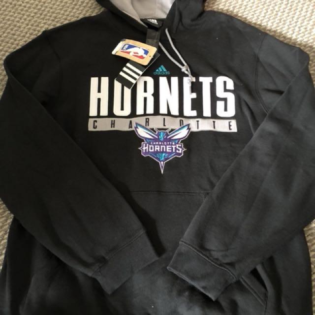 New adidas Nba charlotte hornets hoodie medium