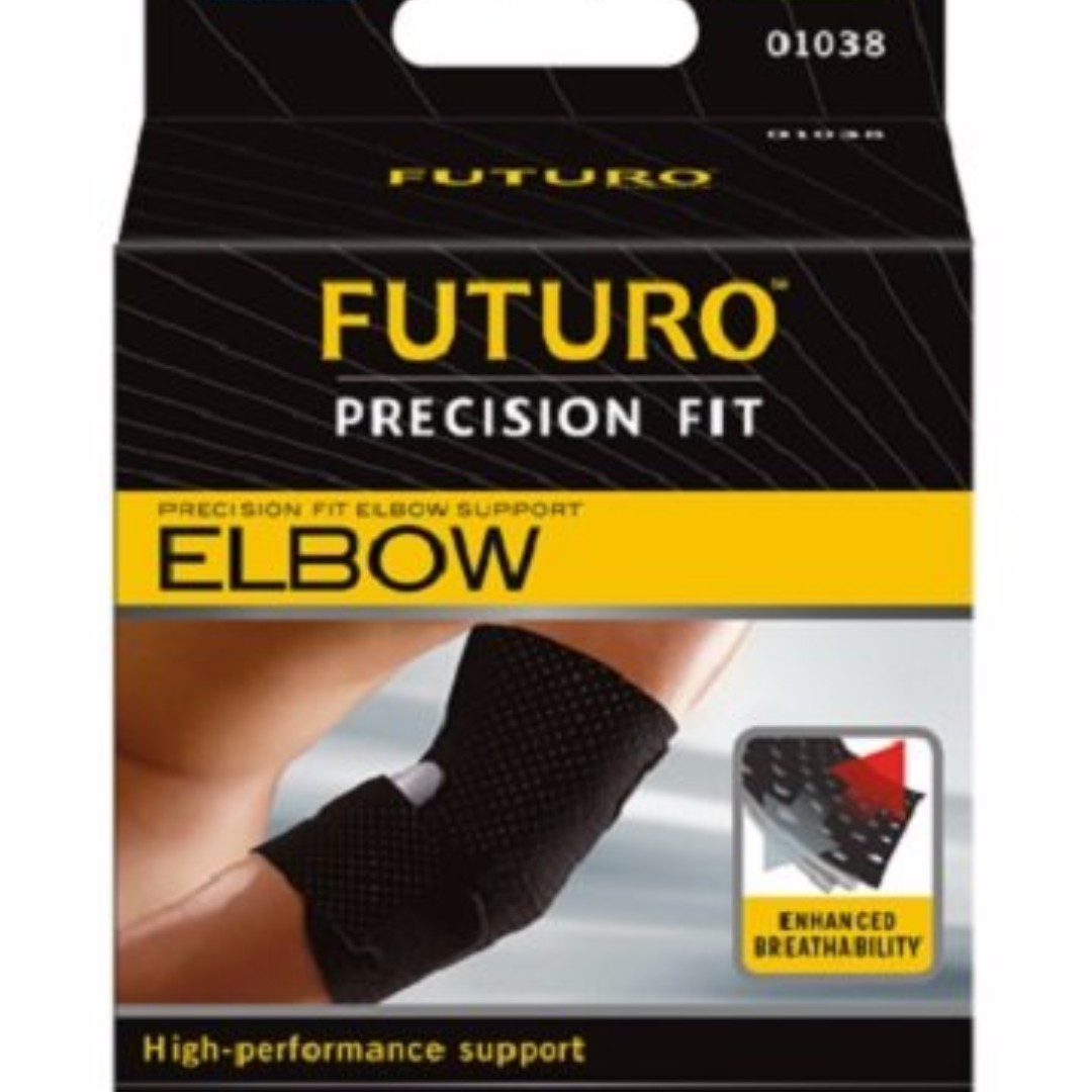 001946b9e9 Free Delivery Futuro Infinity Precision Fit Elbow Support, Adjustable on  Carousell