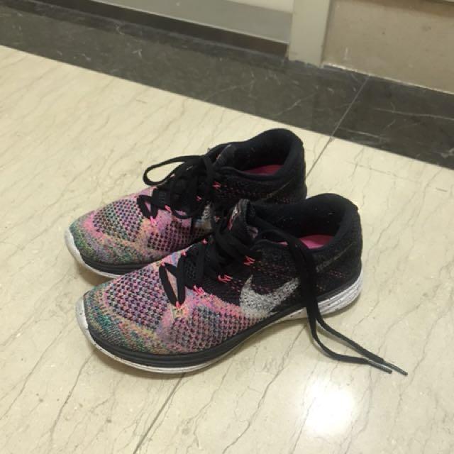Nike Flyknit Lunar 3 彩虹編織