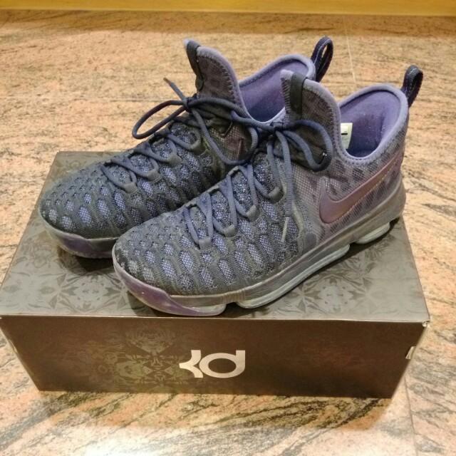 Nike KD9編織  深紫色 #手滑買太多