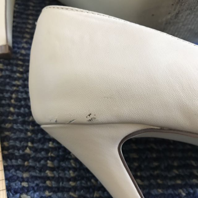 Nude 10cm high heels (formal/event/party)