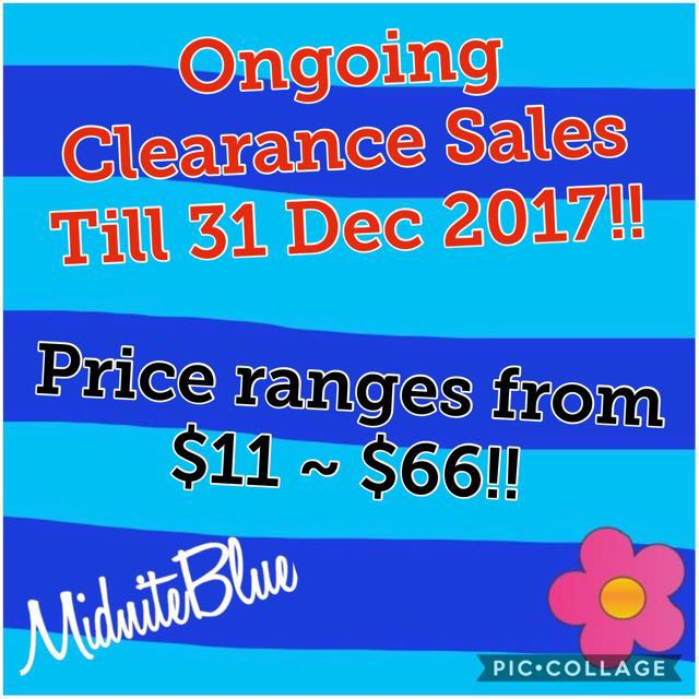 Ongoing Clearance Sales!!