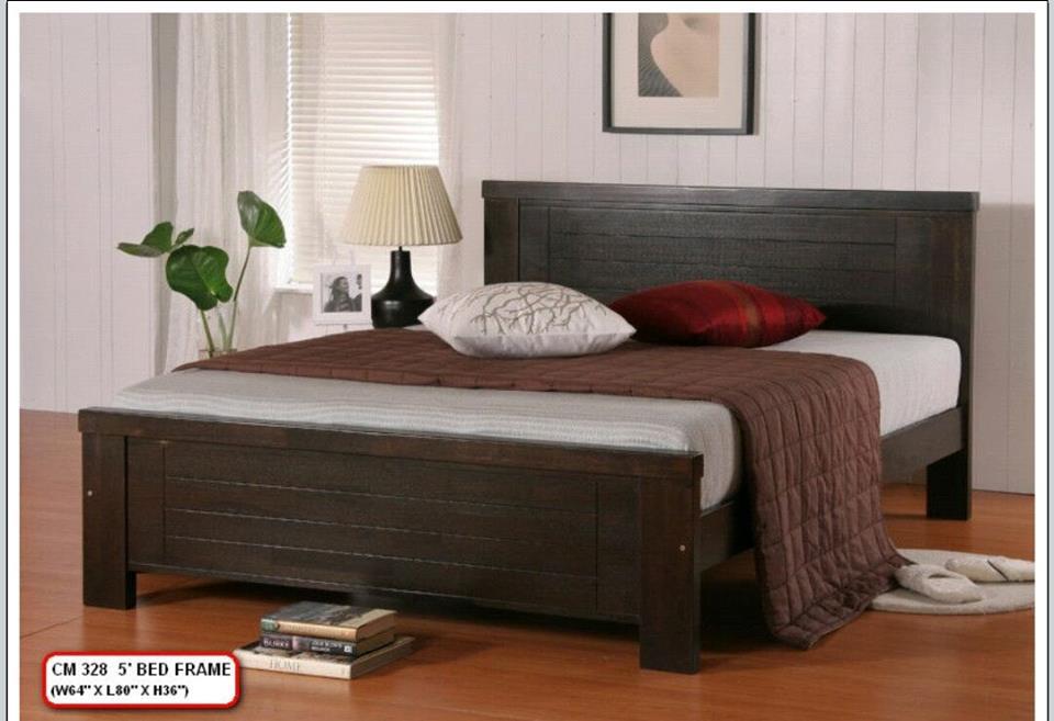 Perabot Murah Katil Kayu Queen Model 328 Home Furniture On Carou