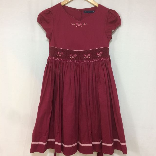 Periwinkle Crimson Dress