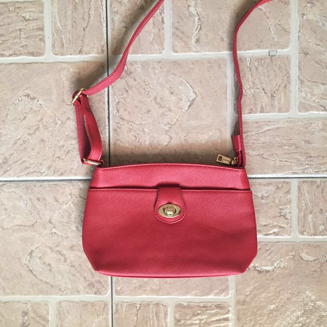 Red Sling Bag (REPRICED!!!)