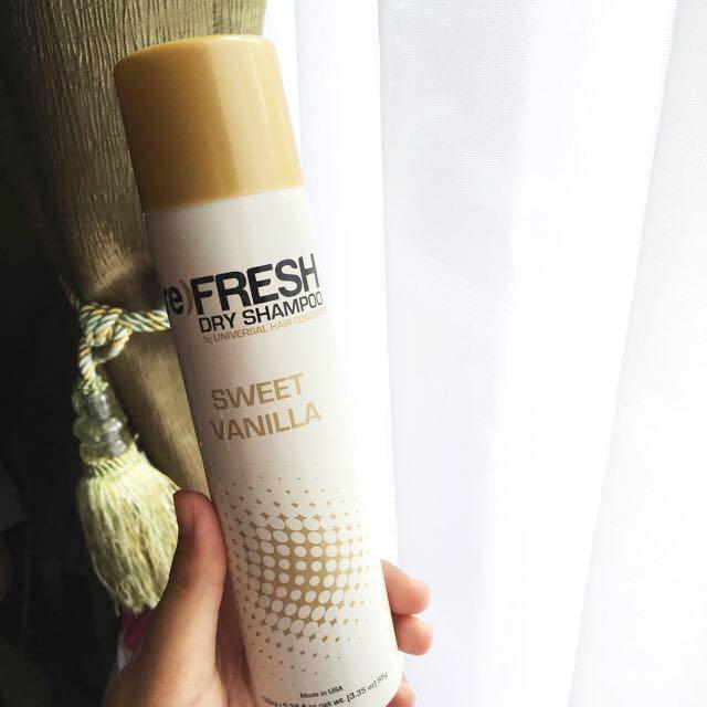 (re)FRESH dry shampoo