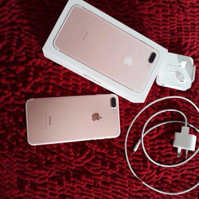 Reprice Iphone 7plus 128gb
