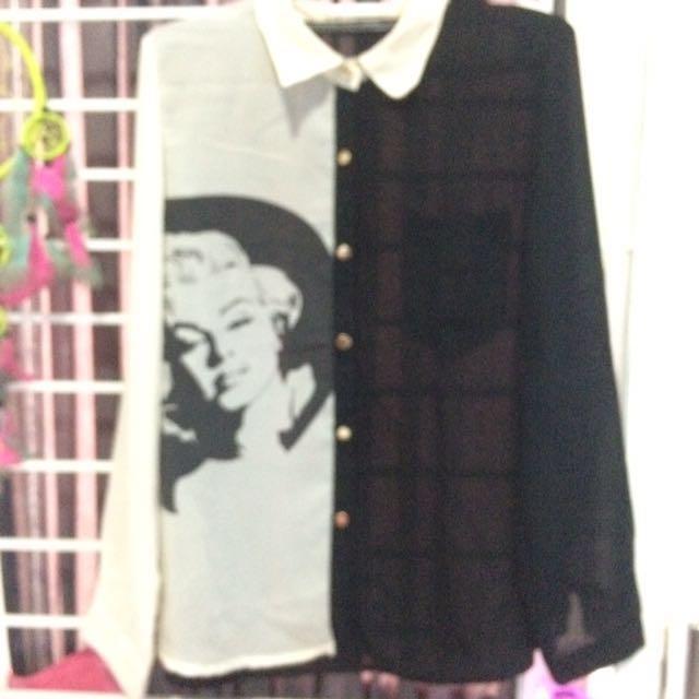 reprice marilyn monroe shirt