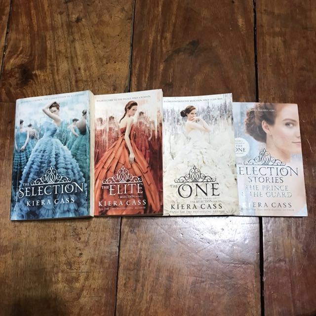 ❗️REPRICED❗️The Selection Series by Keira Cass