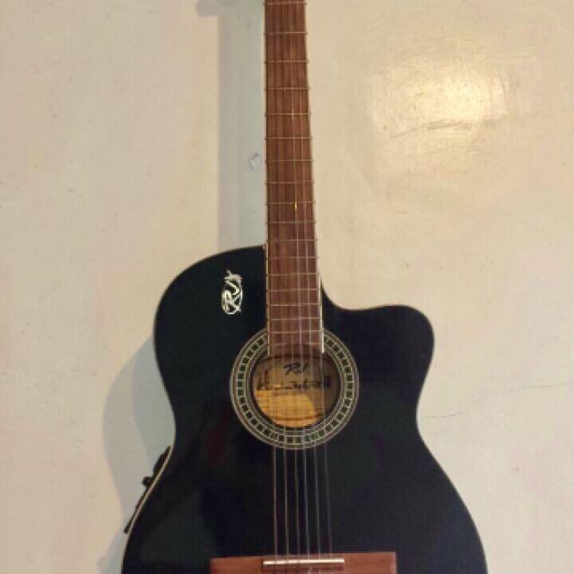Rj Acoustic Guitar Nylon Strings Music Media Music Instruments