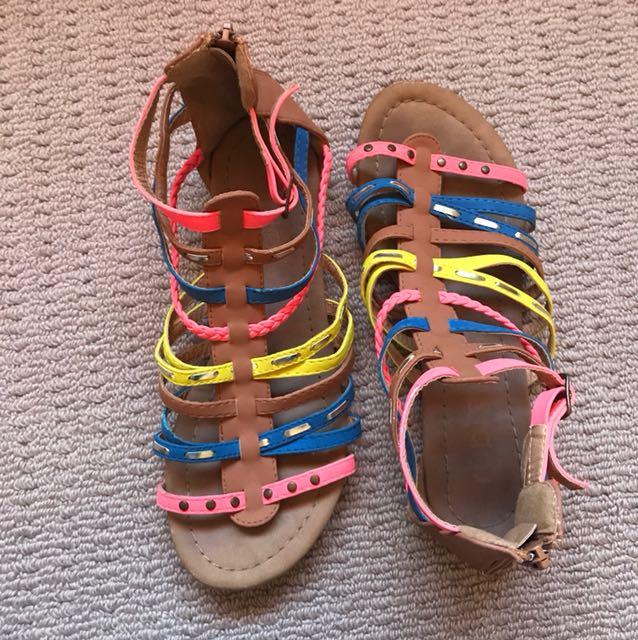 Rubi colourful sandals