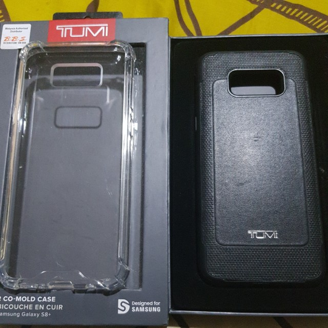 brand new 5c50f 80226 Samsung S8 Plus Tumi Leather Case