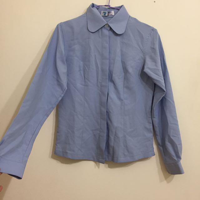 二手🌸天藍色襯衫S