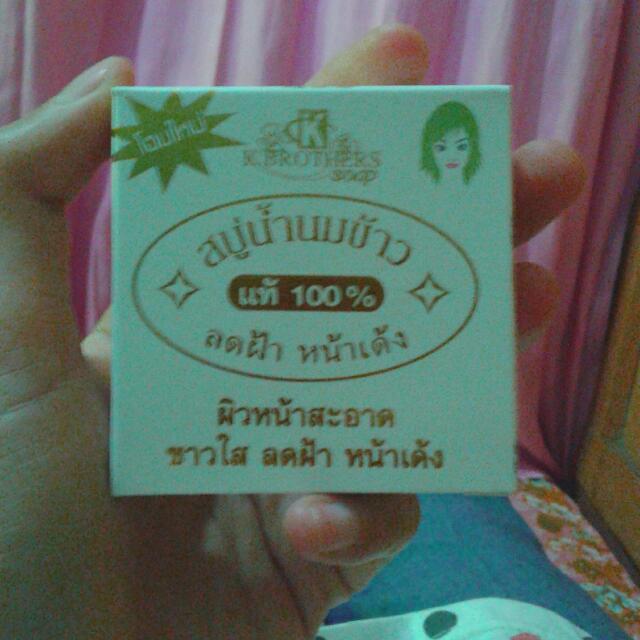 Sabun Beras Thailand Original