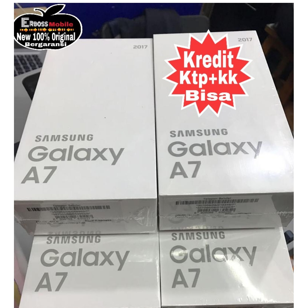 Samsung A7 2017 New Resmi Sein Cash Kredit Cepat Toko Ktp Kk Bisa Galaxy Sm A720 32gb 3gb Edition 081905288895 Serba Serbi Di Carousell