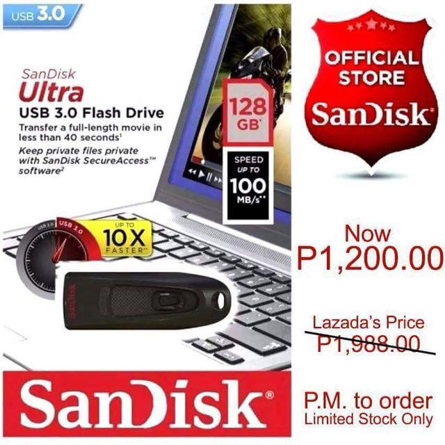 SanDisk 128gb USB Flash Drive