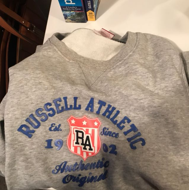 Size 16 authentic original russel athletic jumper
