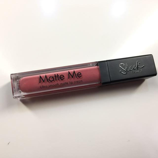 Sleek Matte Me Ultra Smooth Matte Lip Cream