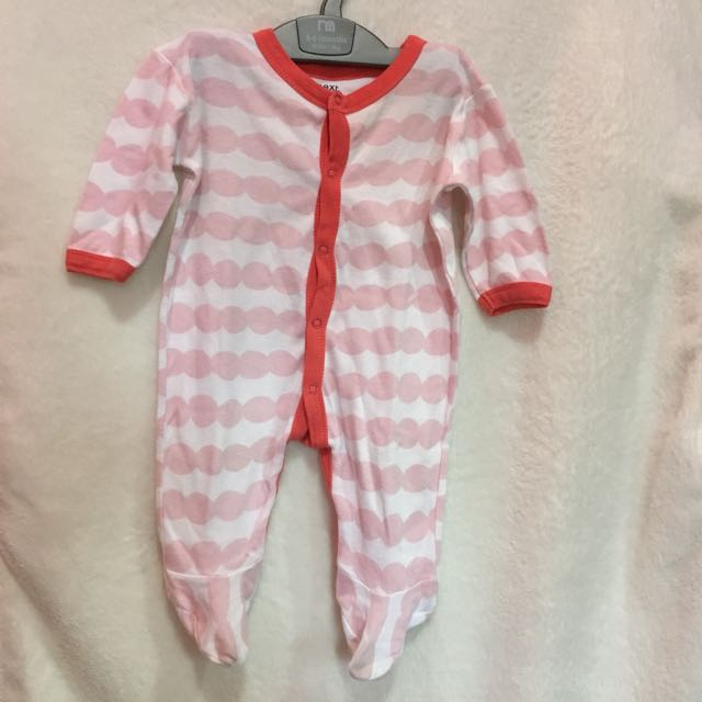Sleepsuit next 3-6 bulan