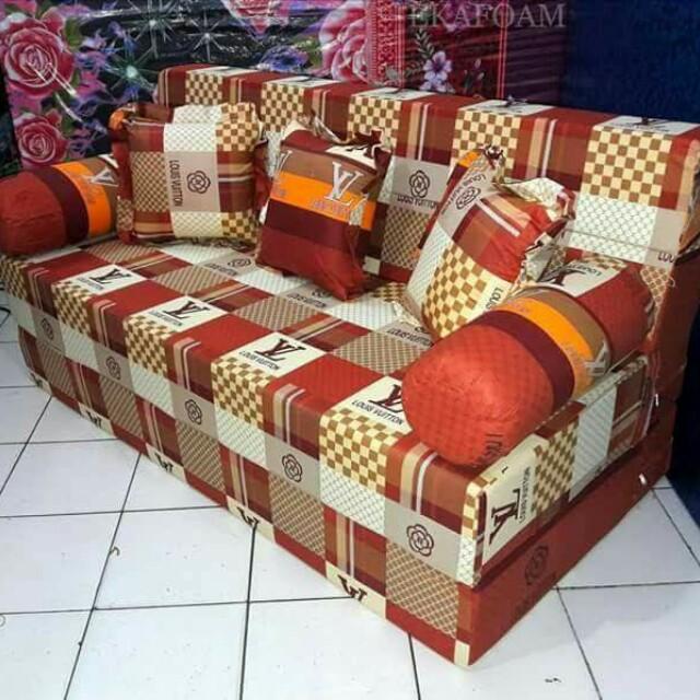 Sofa Bed Inoac Ukuran 160x20x200 Home Furniture On Carousell
