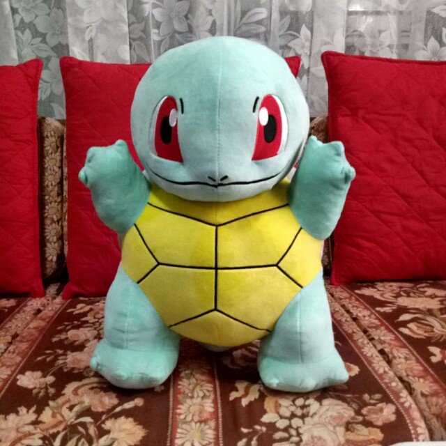"Squirtle 18"" Pokemon (Large) Stuffed Toy"