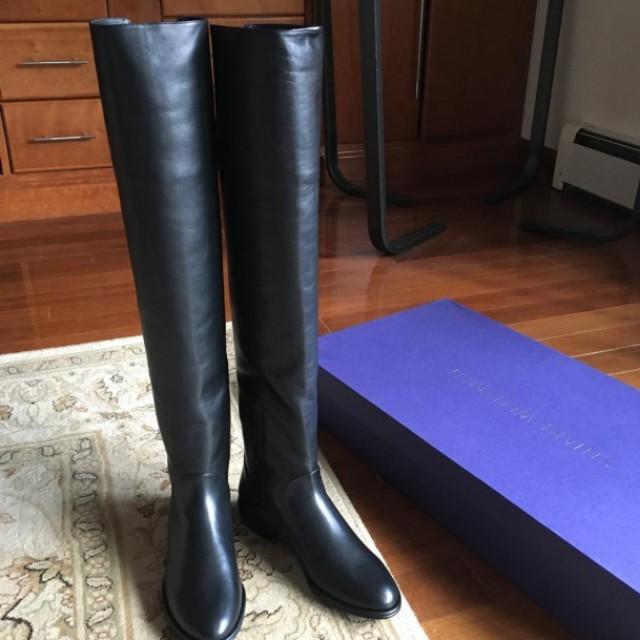 Stuart Weitzman 37.5 過膝長靴
