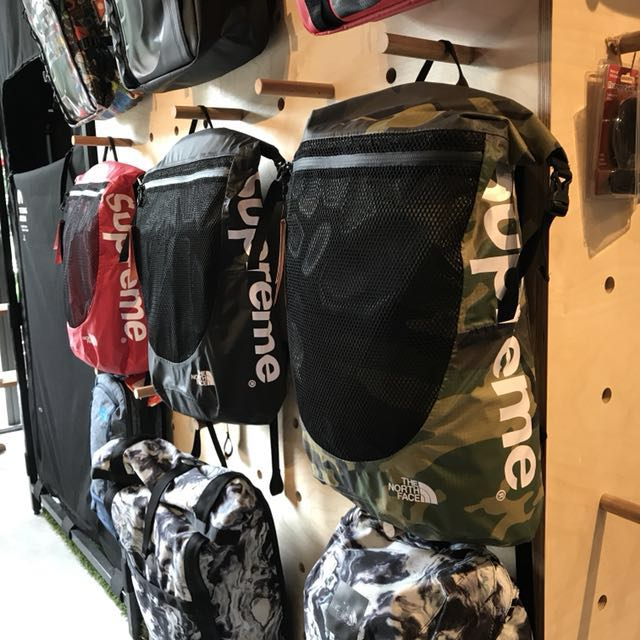 eb6ac9ef7 Supreme x The North Face Waterproof Backpack | Camo, Men's Fashion ...