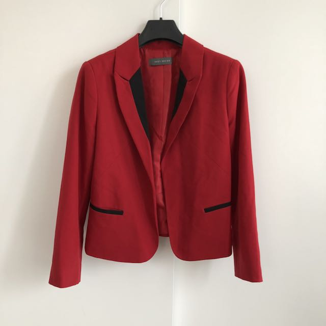Suzy Shier Red Blazer
