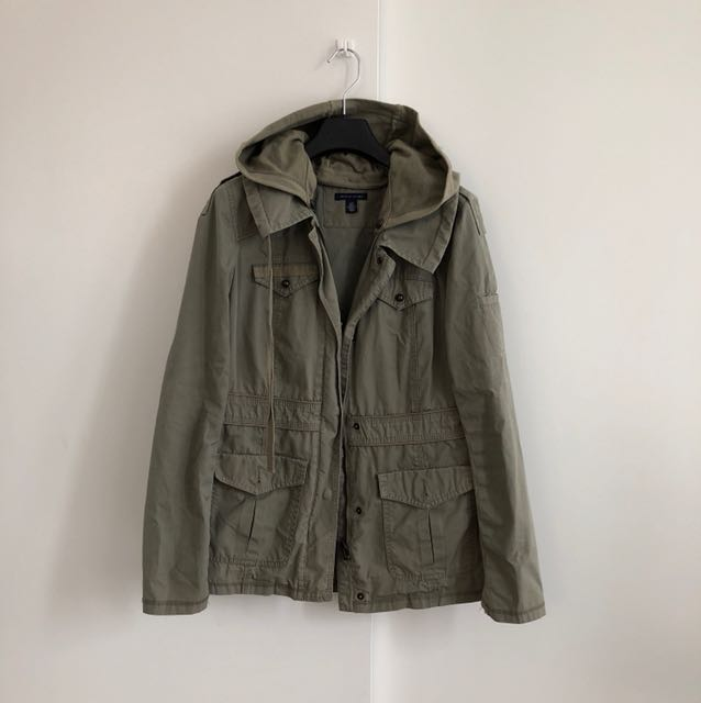 Tommy Hilfiger Green Military Jacket