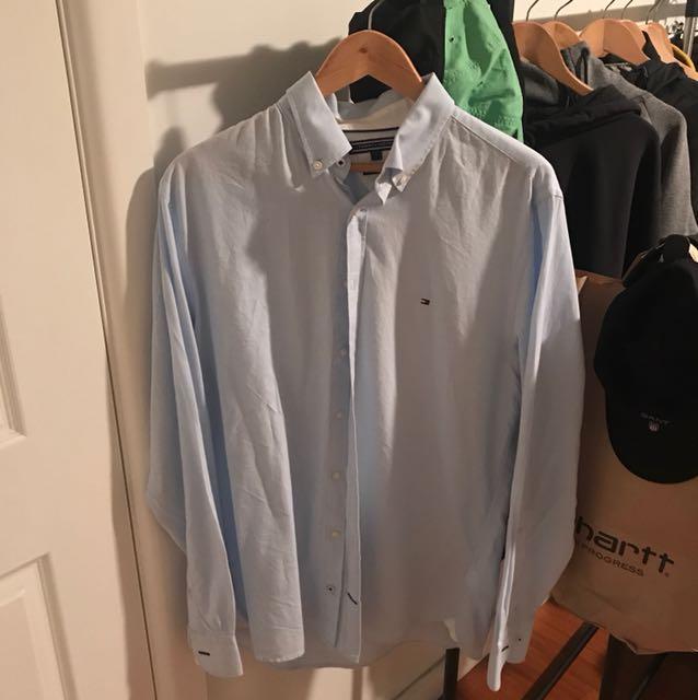 Tommy Hilfiger shirt blue large
