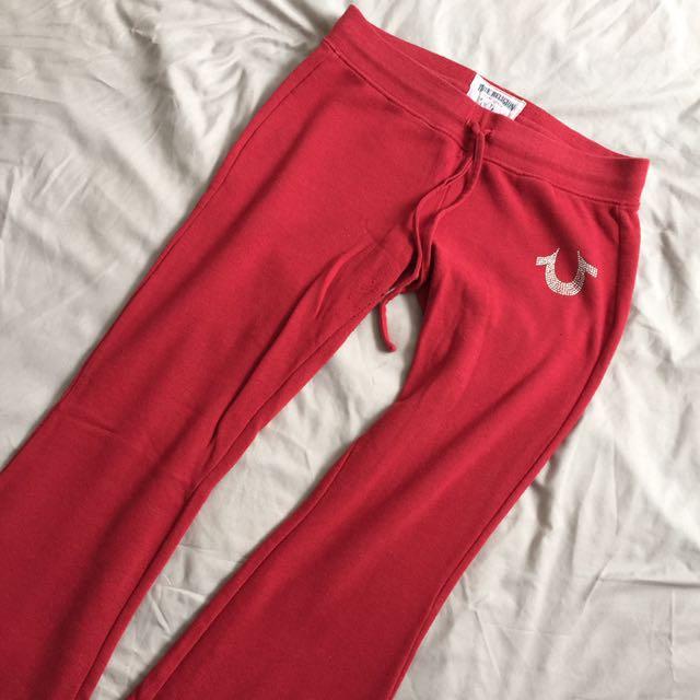 True Religion Track Pants