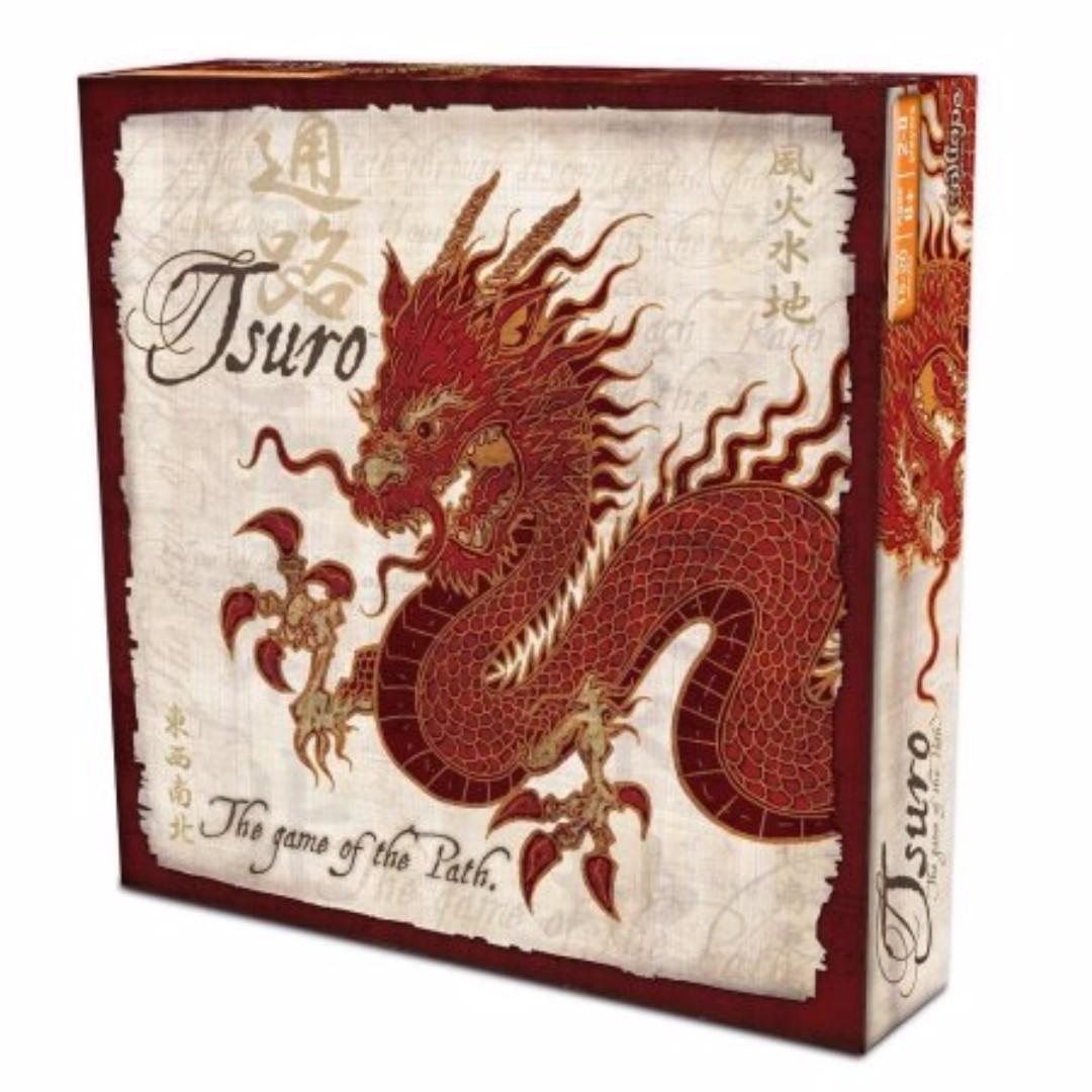 Authentic Tsuro Board Game