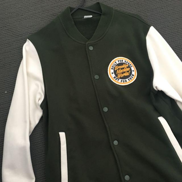 UNIQLO varsity jacket