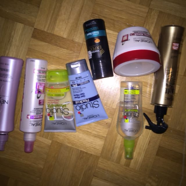 Various hair products