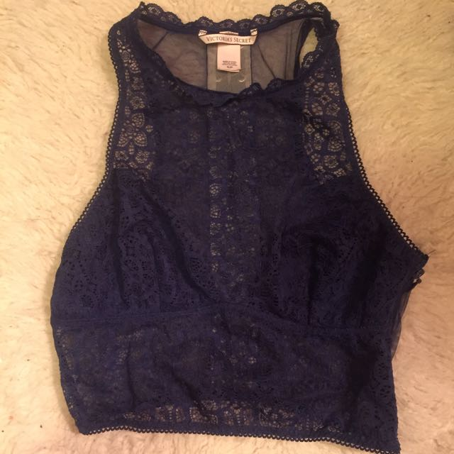 Victoria's Secret lace bralette unlined - S