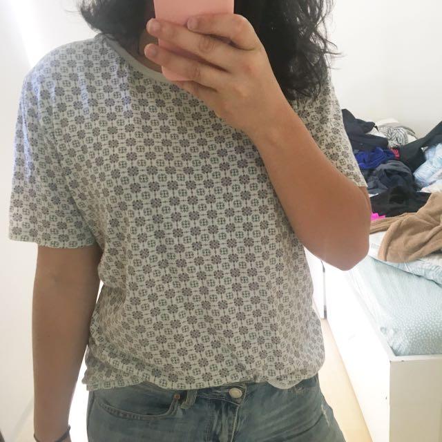 💸White cotton shirt, S