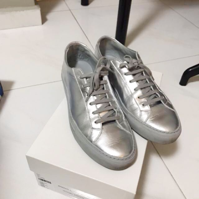 2379e5deefdf Woman by Common Projects Original Achilles Low Silver