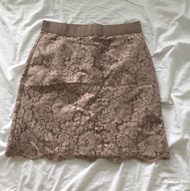 Women's lace skirt