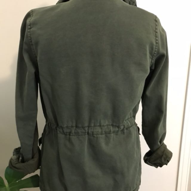 Women's Urban Outfitter Army button-up Jacket