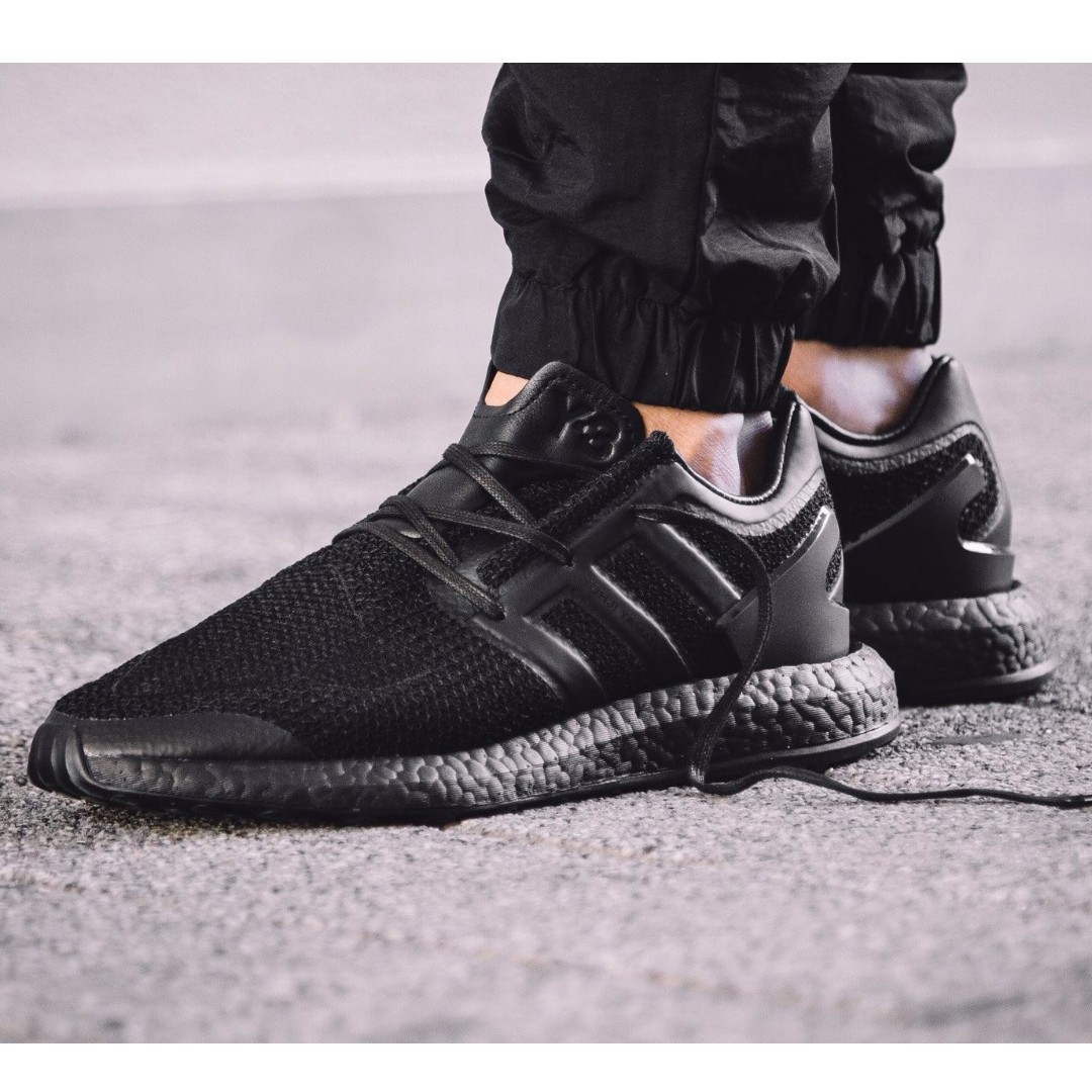 e0c2aba1705f Y-3 Pure Boost Triple Black - Adidas