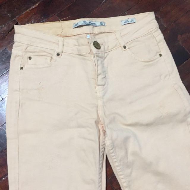 Zara Beige Jeans