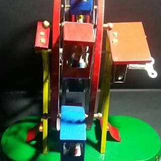 鐵皮玩具(摩天輪)