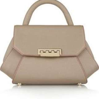 Zac Posen textured leather bag