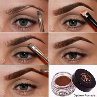 NEW INSTOCK AUTHENTIC Anastasia Beverly Hills Dip Brow Pomade Gel Dipbrow