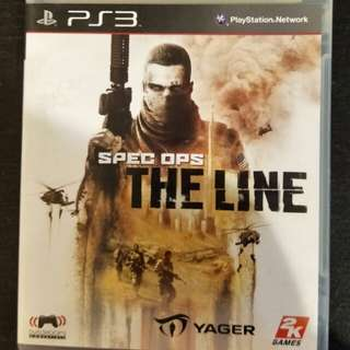 PS3 Spec Ops - The Line